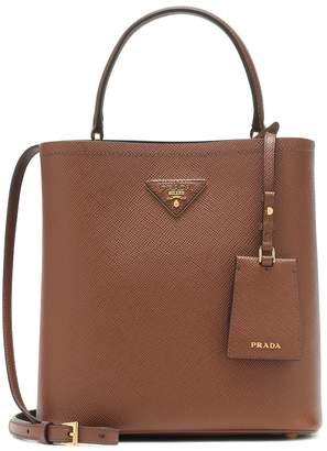 Prada Panier Medium leather shoulder bag