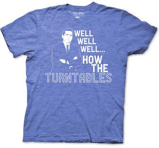 Ripple Junction The Office Michael Scott Turntables Men Graphic T-Shirt