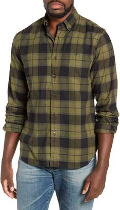 Todd Snyder Classic Fit Plaid Flannel Sport Shirt