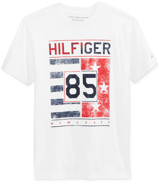 Tommy Hilfiger Graphic-Print T-Shirt, Toddler & Little Boys (2T-7) $18.50 thestylecure.com