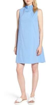 1901 Stretch Cotton Poplin Shift Dress (Regular & Petite)