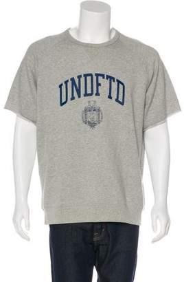 Undefeated Logo Short Sleeve Sweatshirt