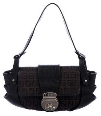 Fendi Zucca Handle Bag