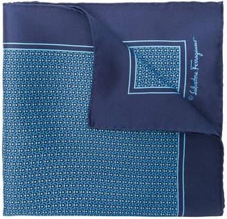 Salvatore Ferragamo micro Gancio print scarf