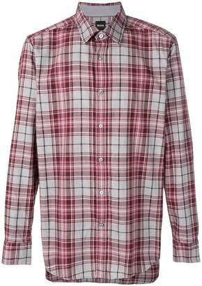HUGO BOSS plaid shirt