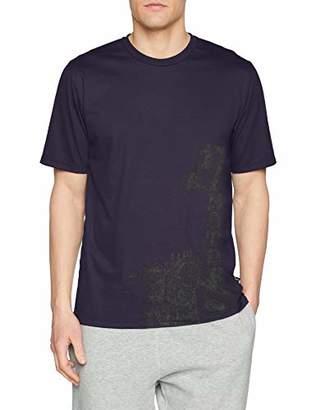 2dce1fec8 Trigema Men's 636265118 T-Shirt, (Deep Purple ...