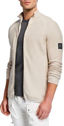 Belstaff Men's Dray Cotton Zip-Front Cardigan