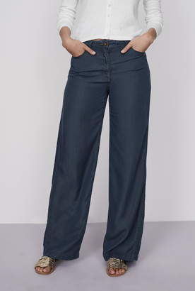 Long Tall Sally Wideleg Tencel Jeans