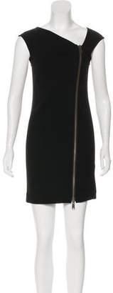 Rachel Zoe Sleeveless Wool Mini Dress