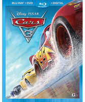 Disney Cars 3 Blu-ray Combo Pack
