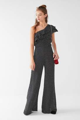 Flynn Skye Rod Ruffle Polka Dot Two-Piece Set