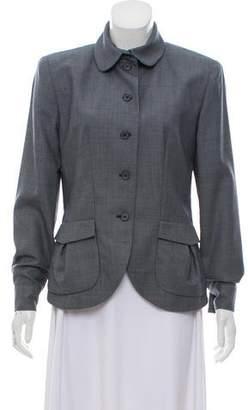 Chloé Structured Patterned Blazer
