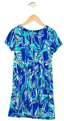 Lilly Pulitzer Girls' Printed Short Sleeve Dress