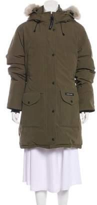 Canada Goose Fur-Trimmed Down Coat