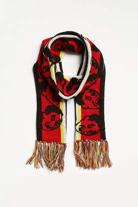 Urban Outfitters Jacquard Knit Pattern Scarf