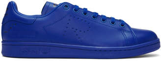 Raf Simons Blue adidas Originals Edition Stan Smith Sneakers