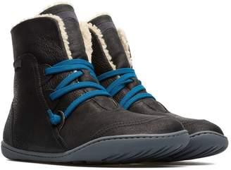 Camper Peu Cami Faux Fur Lined High Top Sneaker