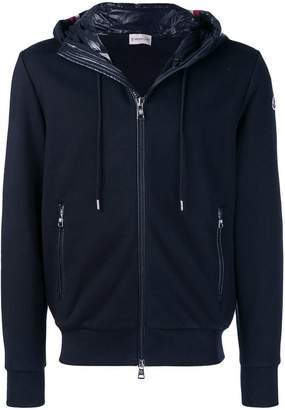 Moncler hooded zipped cardigan