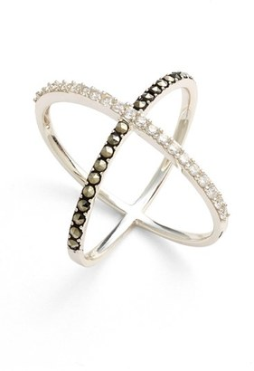 Women's Judith Jack 'Rings & Things' Crossover Ring $98 thestylecure.com