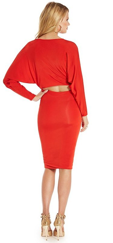 GUESS by Marciano Fierce Solid Dress