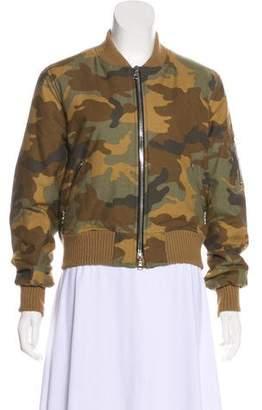 Amiri Camo Bomber Jacket