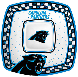 Memory Company Carolina Panthers Gameday Ceramic Chip & Dip Plate