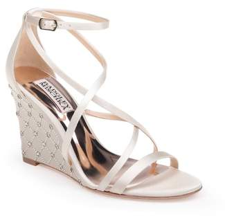 Badgley Mischka Shelly Strappy Wedge Sandal