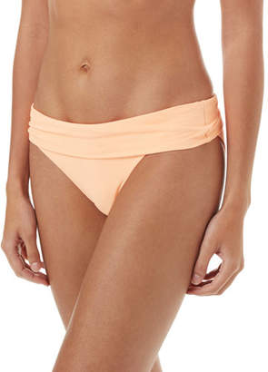 Melissa Odabash Provence Pique Fold-Over Bikini Swim Bottoms