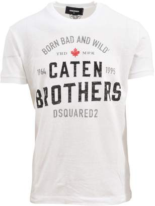 DSQUARED2 Logoed T-shirt White