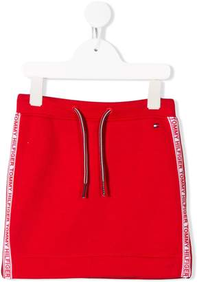 Tommy Hilfiger Junior drawstring mini skirt