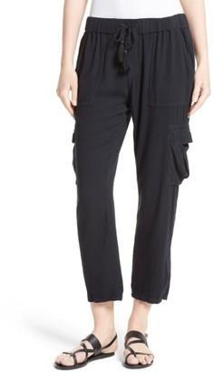 Women's Soft Joie Marquette Crop Pants $178 thestylecure.com