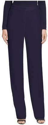 St. John Stretch Viscose Straight Leg Pants