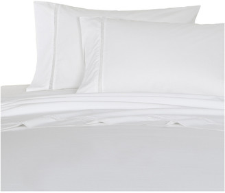 Melange Home Percale 300Tc Lattice Lace Sheet Set