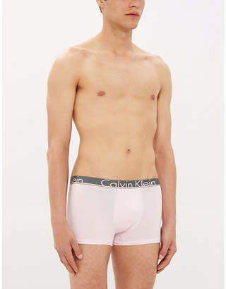 e08128b27 Calvin Klein Pack of two classic-fit stretch-cotton trunks