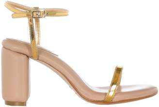 MM6 MAISON MARGIELA Metallic Strap Sandals