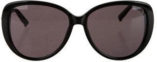 Swarovski Chocolat Oversize Sunglasses $125 thestylecure.com