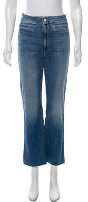 Mother High-Rise Straight-Leg Jean