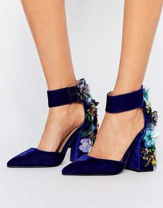 Asos Design POPSTAR Embellished Heels