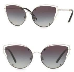Valentino 58MM Havana Cat Eye Sunglasses