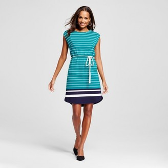 Merona Women's Varied Stripe Button Shoulder Dress $24.99 thestylecure.com