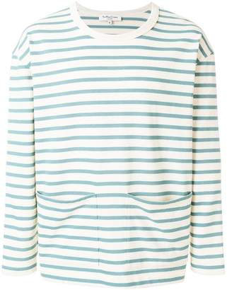 YMC striped sweatshirt