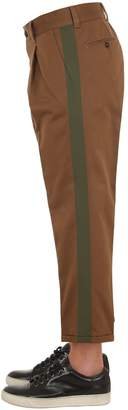 Pt01 20cm Double Twisted Cotton Chino Pants