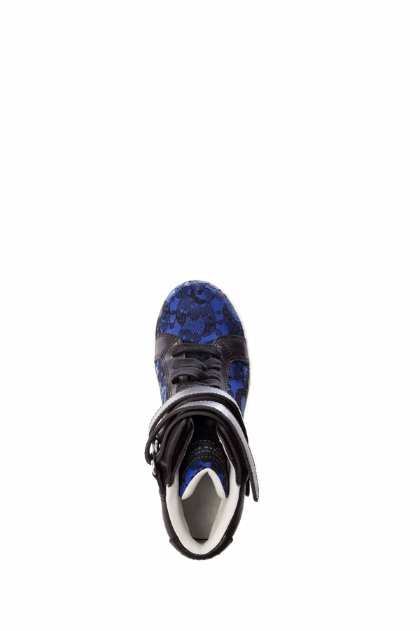 Marc by Marc Jacobs Lace High-Top Sneaker 40MM
