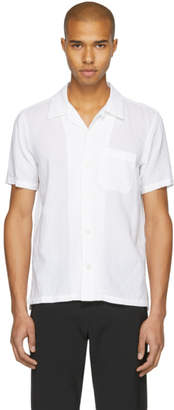 Attachment White Linen Shirt