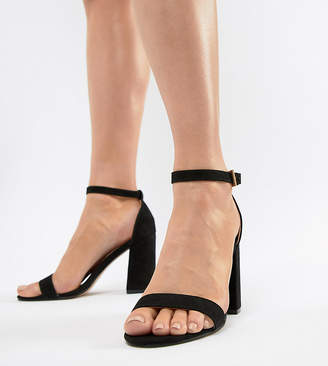 London Rebel High Block Heel Sandals