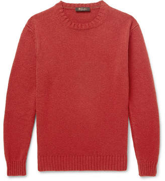 Loro Piana Textured-Cotton Sweater