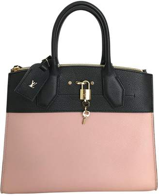 Louis Vuitton City Steamer leather handbag