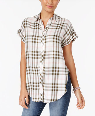 Buffalo David Bitton Daleena Plaid Shirt $49 thestylecure.com