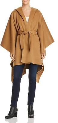 Theory Wool & Cashmere Poncho-Style Jacket