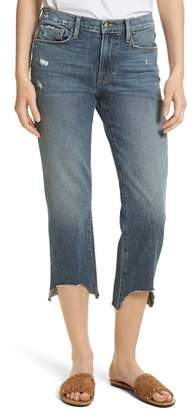 Frame Le Nouveau Scoop Hem Ankle Straight Leg Jeans (Candover)